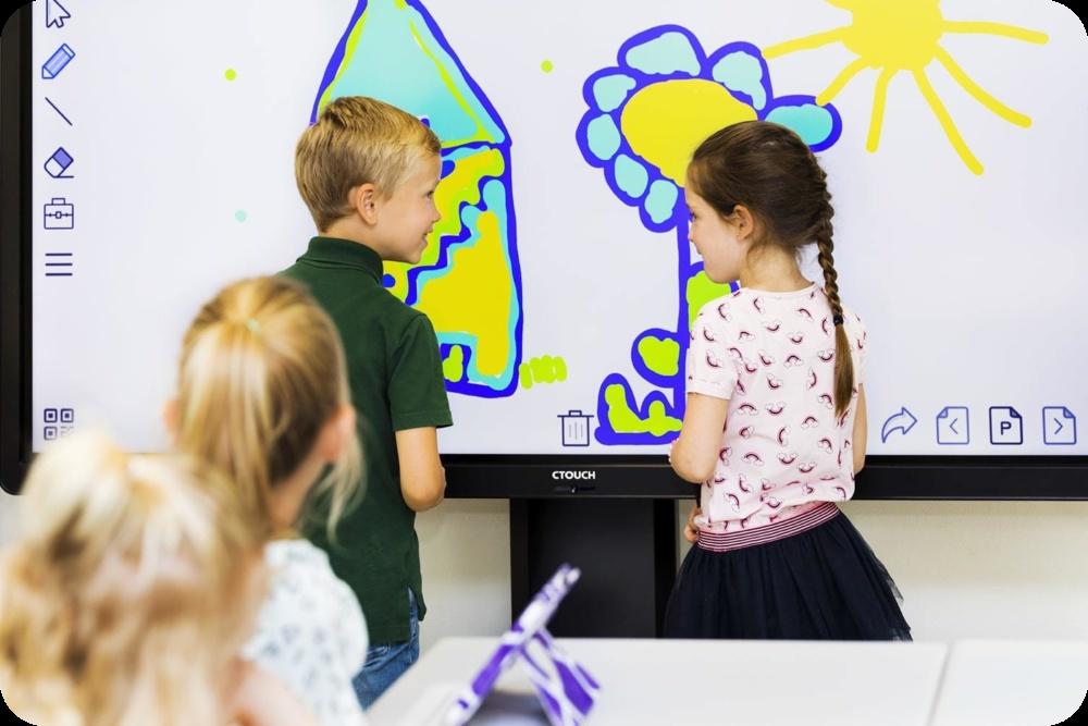 Display Interactiv Smart Ctouch Laser Nova educatie interactiva