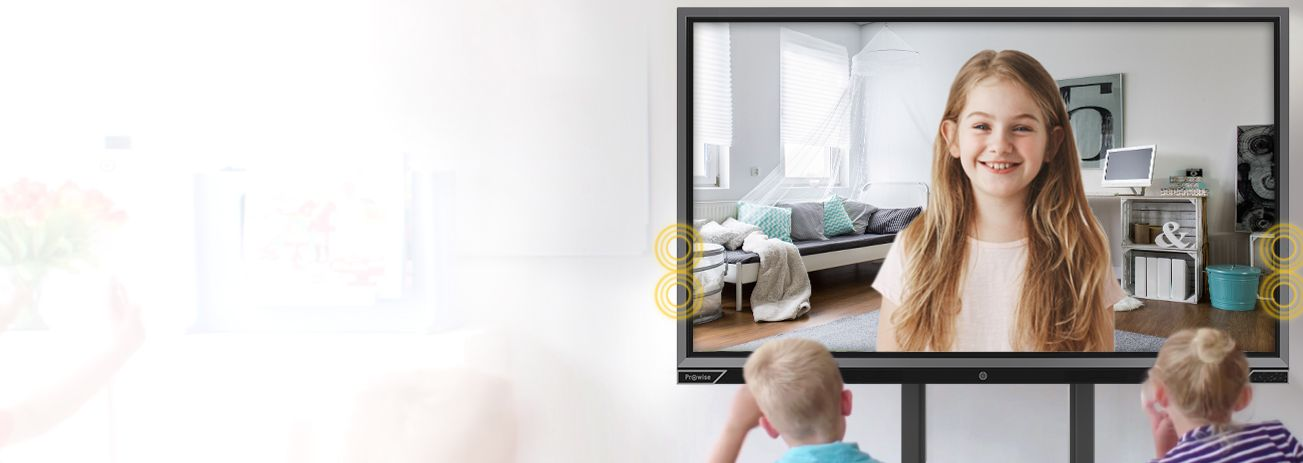 Display Interactiv Advanced Prowise 65 inch sesiuni videoconferinta