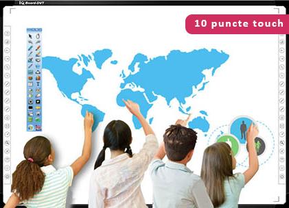 "Pachet interactiv IQboard Foundation 87"" - Magic tabla interactiva"