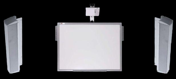 "Pachet interactiv IQboard Expert UST 94"" Innovative Teaching GO sistem audio"